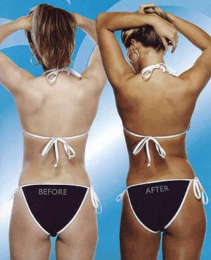 What do you do before a spray tan?